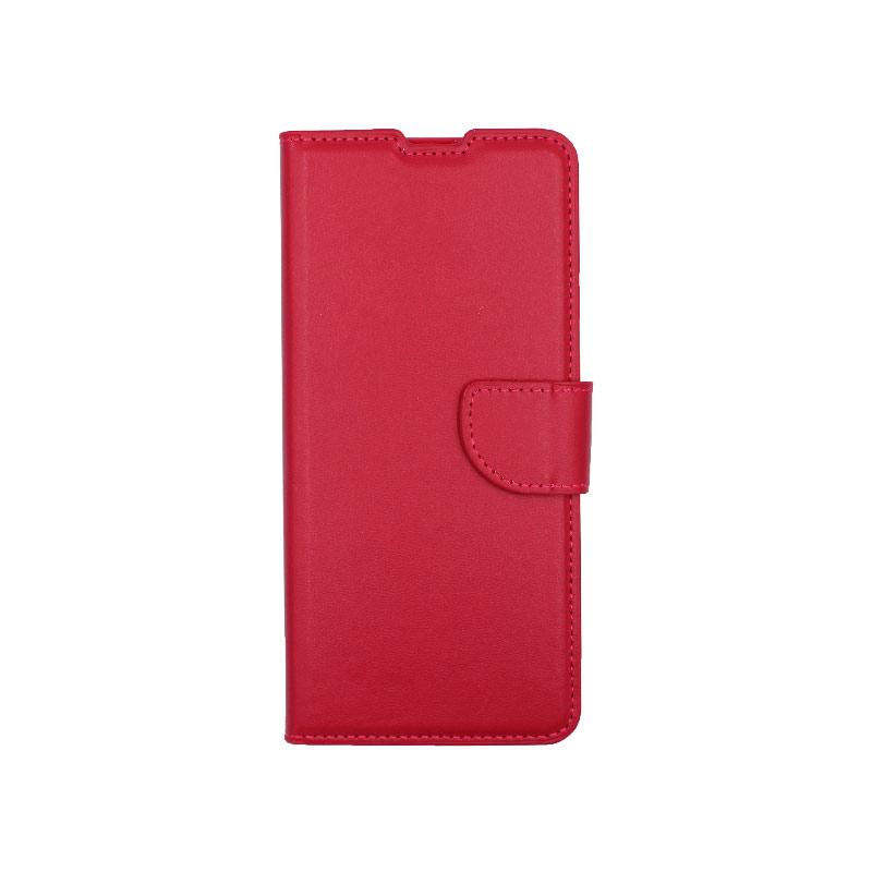 Θήκη Samsung Galaxy A31 Wallet φούξια 1