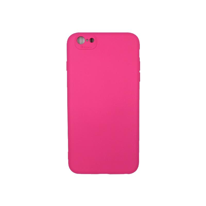 Θήκη iPhone 6 Plus / 6s Plus Silky and Soft Touch Silicone φουξ 1