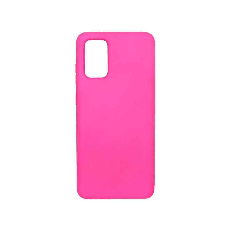 Θήκη Samsung Galaxy S20 Plus Silky and Soft Touch Silicone φούξια 1