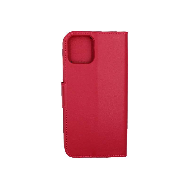 Θήκη iPhone 12 Wallet Φούξια 2