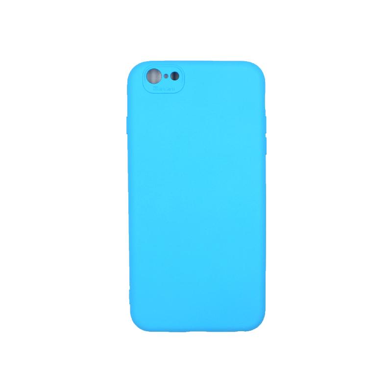Θήκη iPhone 6 Plus / 6s Plus Silky and Soft Touch Silicone γαλάζιο 1