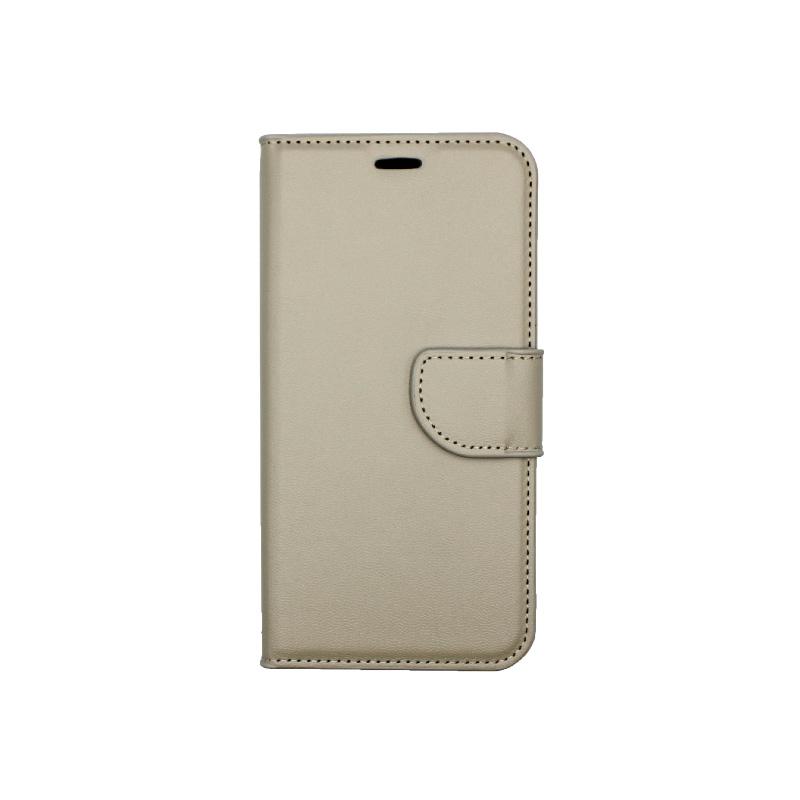 Θήκη Xiaomi Redmi 6 Wallet γκρί 1