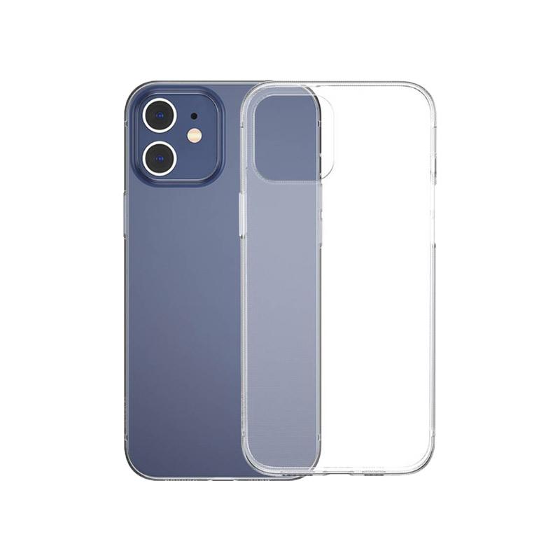 Θήκη Σιλικόνης Διάφανο iPhone 12 Mini