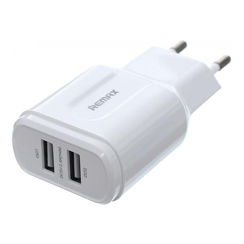 Φορτιστής Remax RP-U22 2x USB & Type-C Καλώδιο Λευκό 3