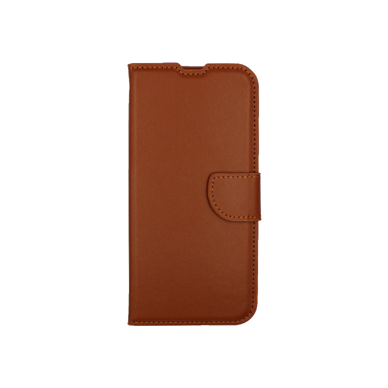 Θήκη Xiaomi Redmi Note 8T Wallet καφέ 1