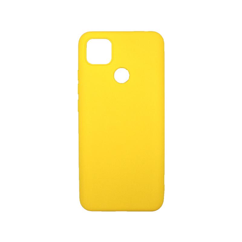 Θήκη Xiaomi Redmi 9C Σιλικόνη κίτρινο