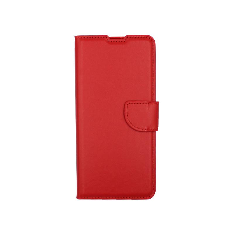Θήκη Samsung Galaxy A31 Wallet κόκκινο 1