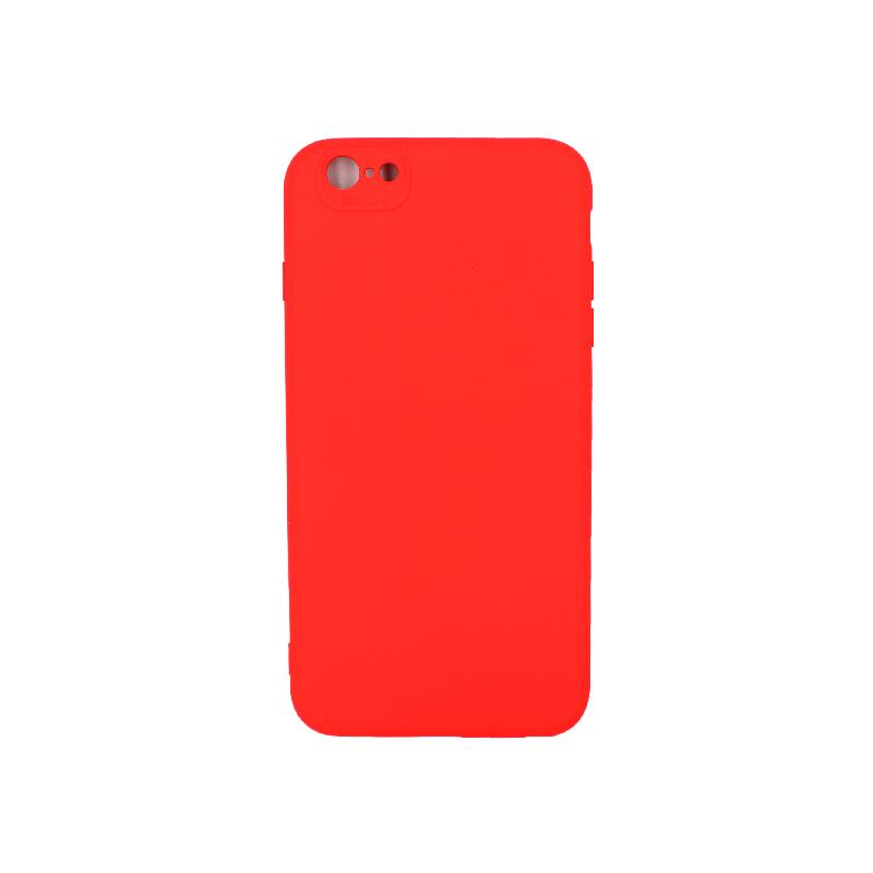 Θήκη iPhone 6 Plus / 6s Plus Silky and Soft Touch Silicone κόκκινο 1