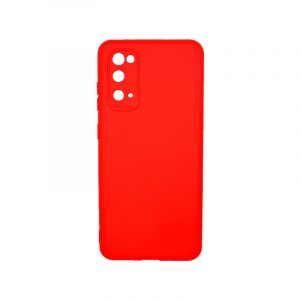 Θήκη Samsung Galaxy S20 Silky and Soft Touch Silicone κόκκινο 1
