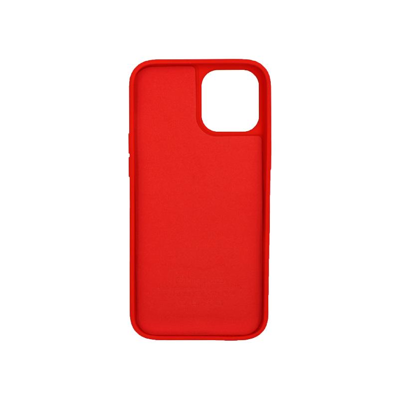 Θήκη iPhone 12 Pro Max Silky and Soft Touch Silicone κόκκινο 2