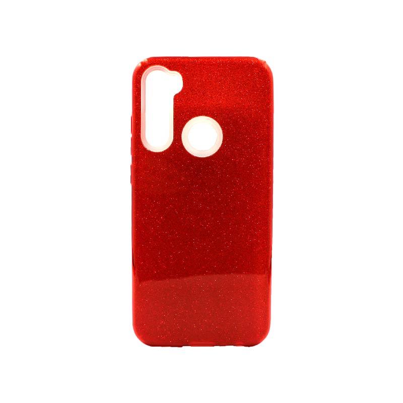 Θήκη Xiaomi Redmi Note 8T Glitter κόκκινο