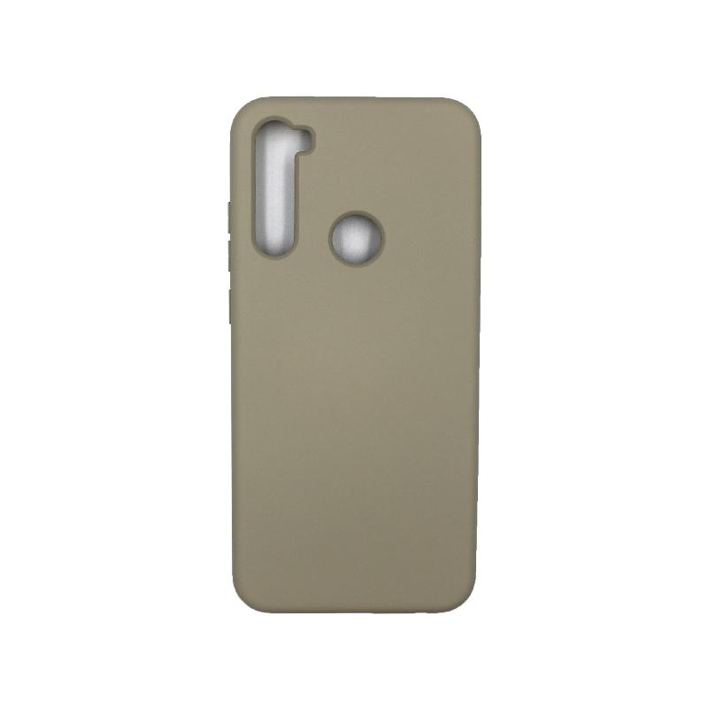Θήκη Xiaomi Redmi Note 8T Silky and Soft Touch Silicone λαδί 1