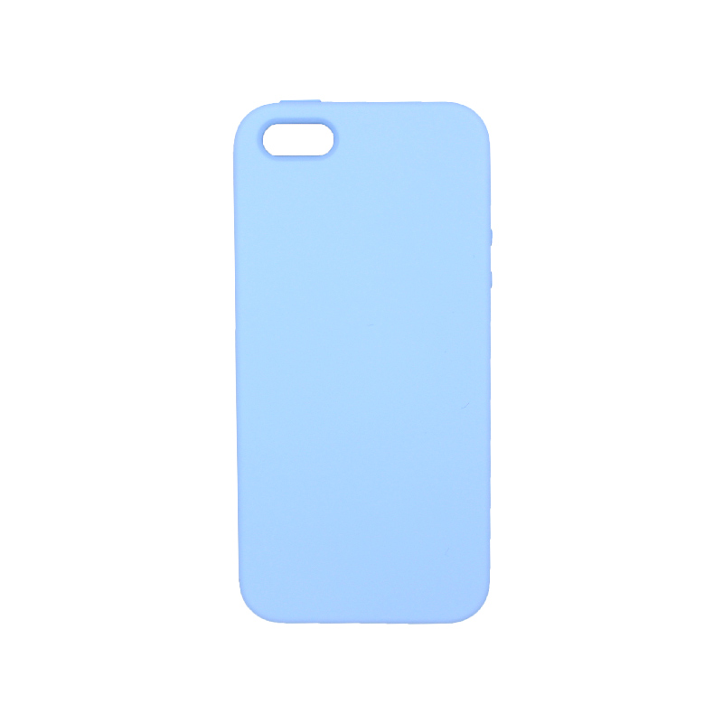 Θήκη iPhone 5 / 5s / SE Silky and Soft Touch Silicone λιλά 1