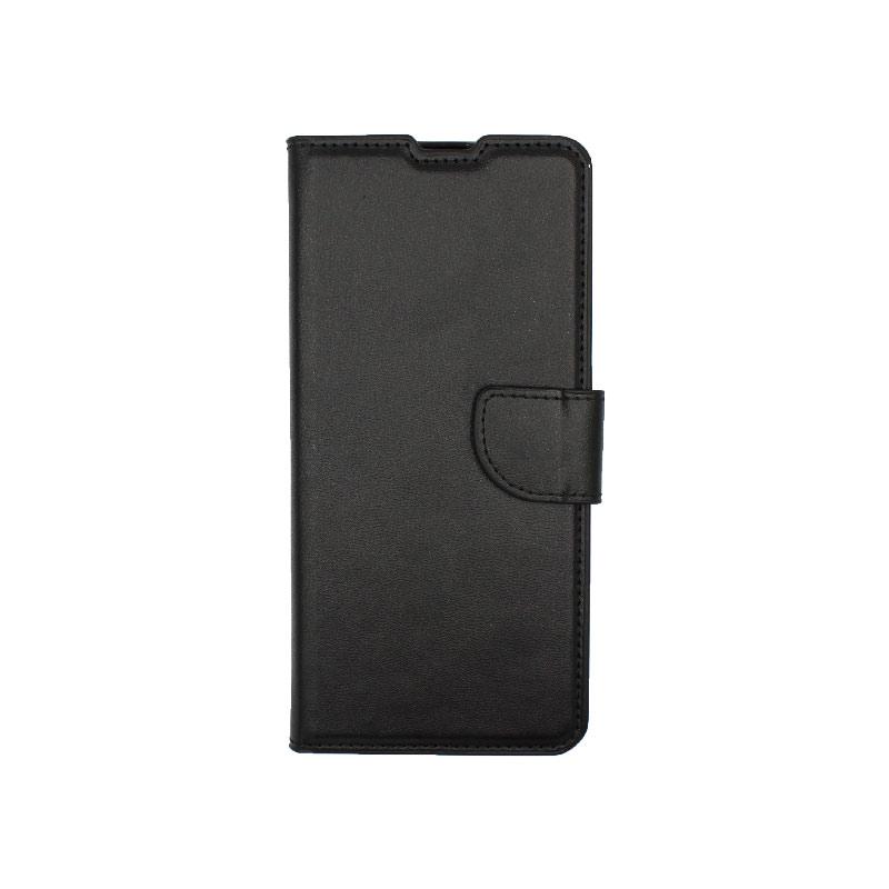 Θήκη Samsung Galaxy A31 Wallet μαύρο 1