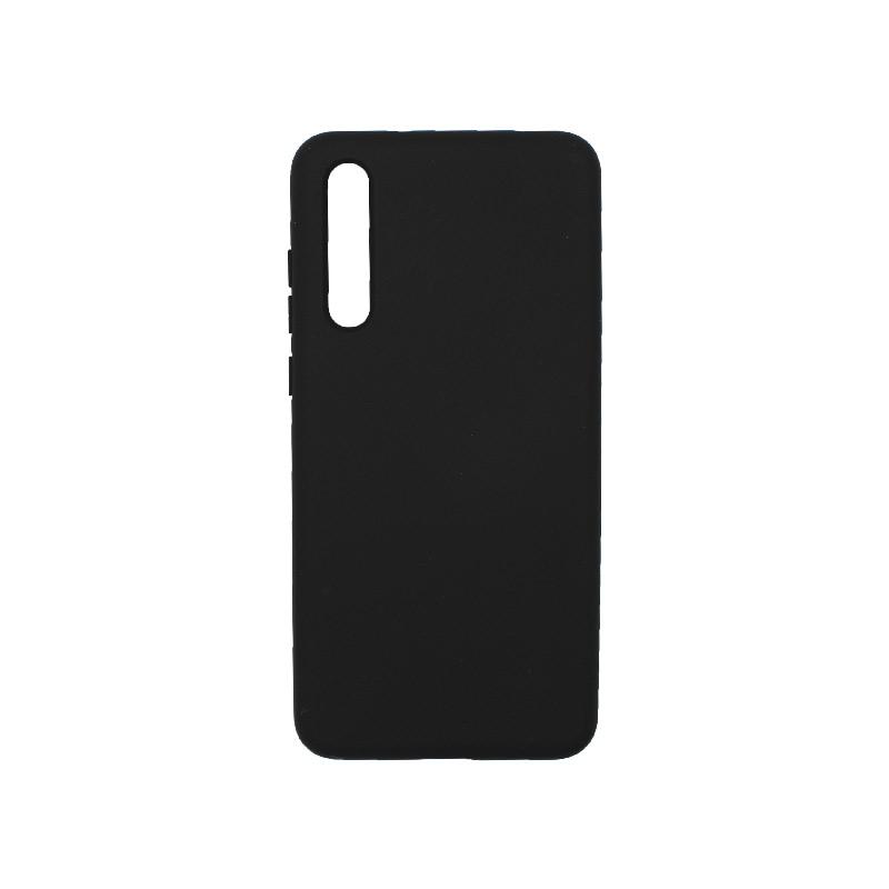 Θήκη Huawei P20 Pro Silky and Soft Touch Silicone μαύρο 1