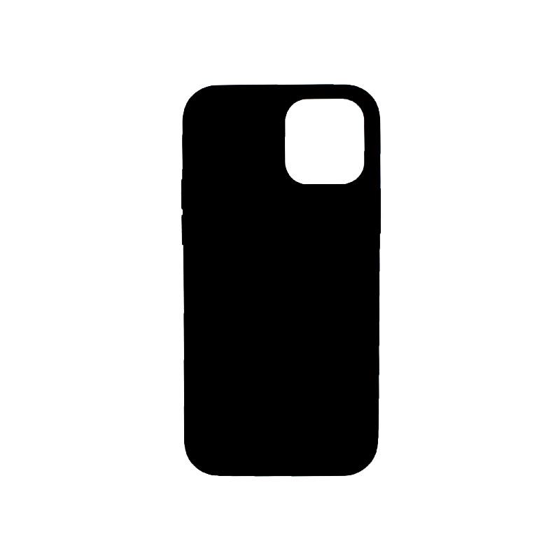 Θήκη iPhone 12 Pro Silky and Soft Touch Silicone μαύρο 2