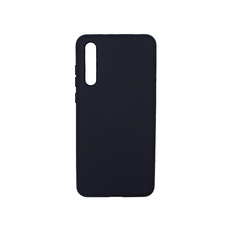Θήκη Huawei P20 Pro Silky and Soft Touch Silicone μπλε 1