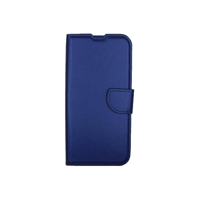 Θήκη Xiaomi Redmi Note 8T Wallet μπλε 1