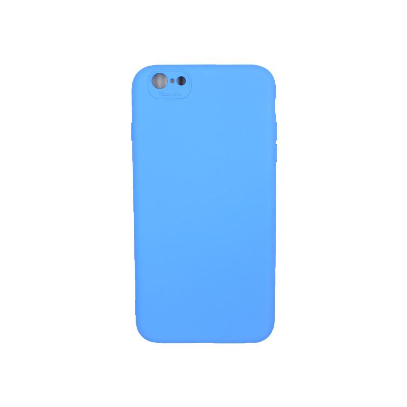 Θήκη iPhone 6 Plus / 6s Plus Silky and Soft Touch Silicone μπλε 1