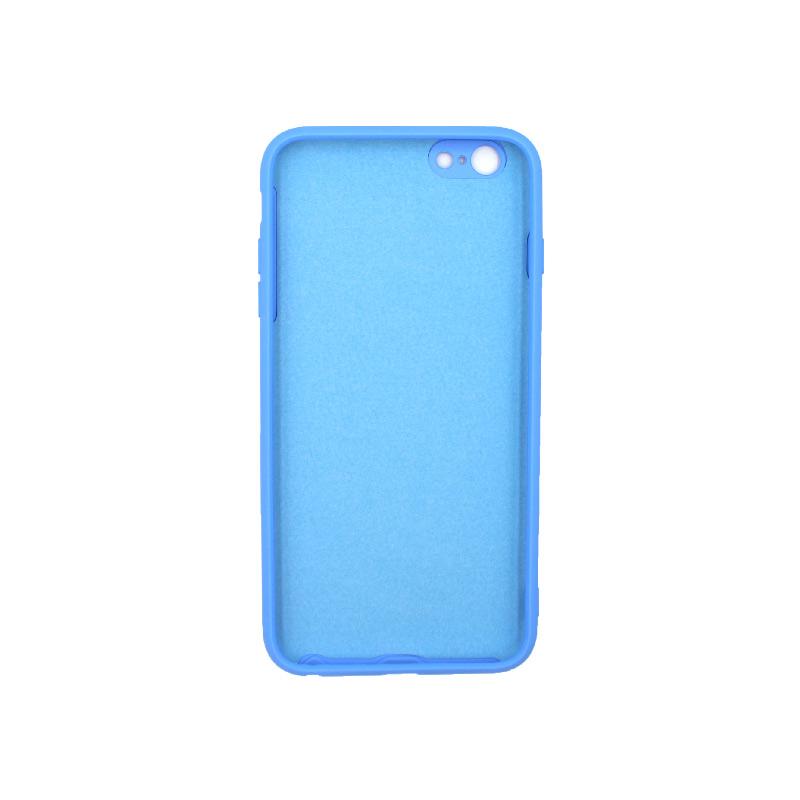 Θήκη iPhone 6 Plus / 6s Plus Silky and Soft Touch Silicone μπλε 2