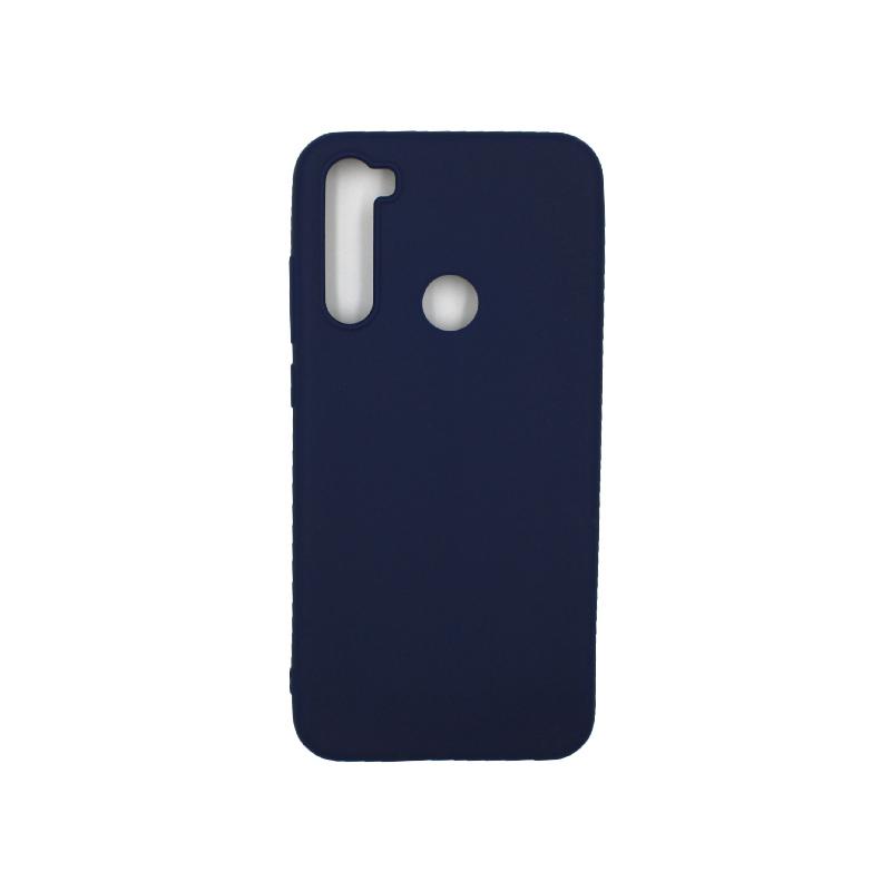 Θήκη Xiaomi Redmi Note 8T Σιλικόνη σκούρο μπλε