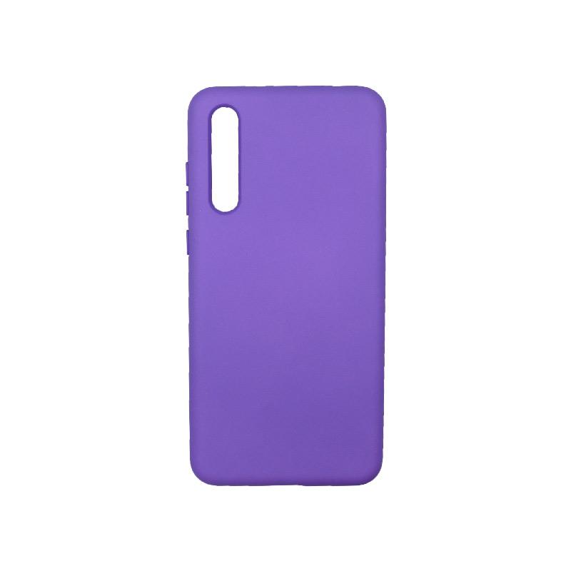 Θήκη Huawei P20 Pro Silky and Soft Touch Silicone μωβ 1