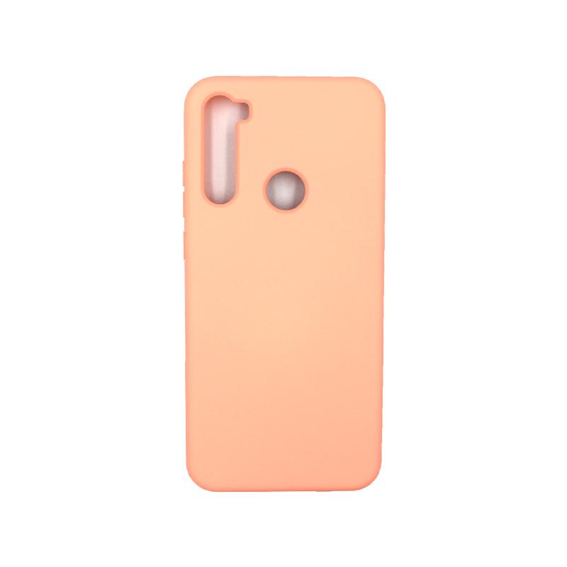 Θήκη Xiaomi Redmi Note 8T Silky and Soft Touch Silicone πορτοκαλί 1