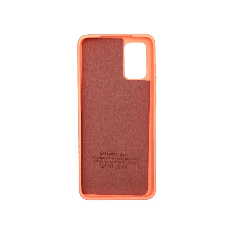 Θήκη Samsung Galaxy S20 Plus Silky and Soft Touch Silicone πορτοκαλί 2
