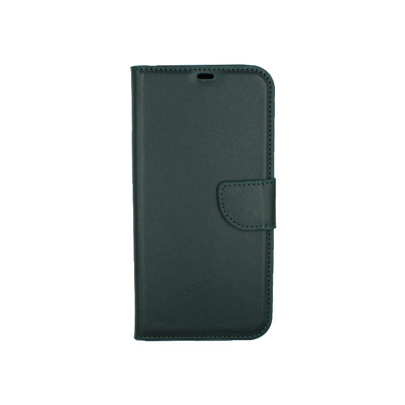 Θήκη iPhone 12 Mini Wallet πράσινο 1