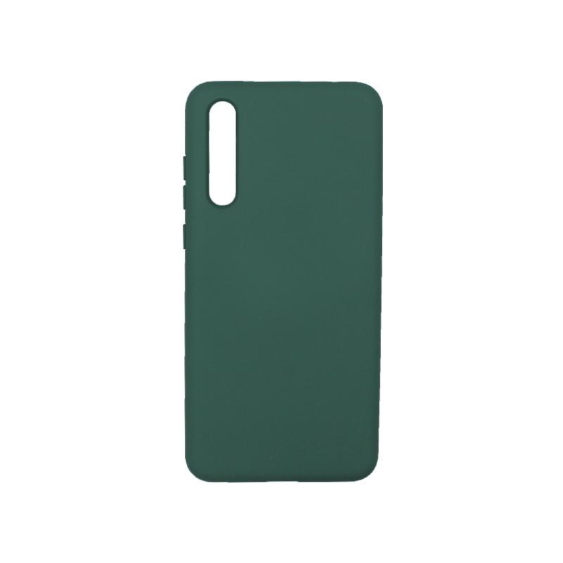 Θήκη Huawei P20 Pro Silky and Soft Touch Silicone πράσινο 1