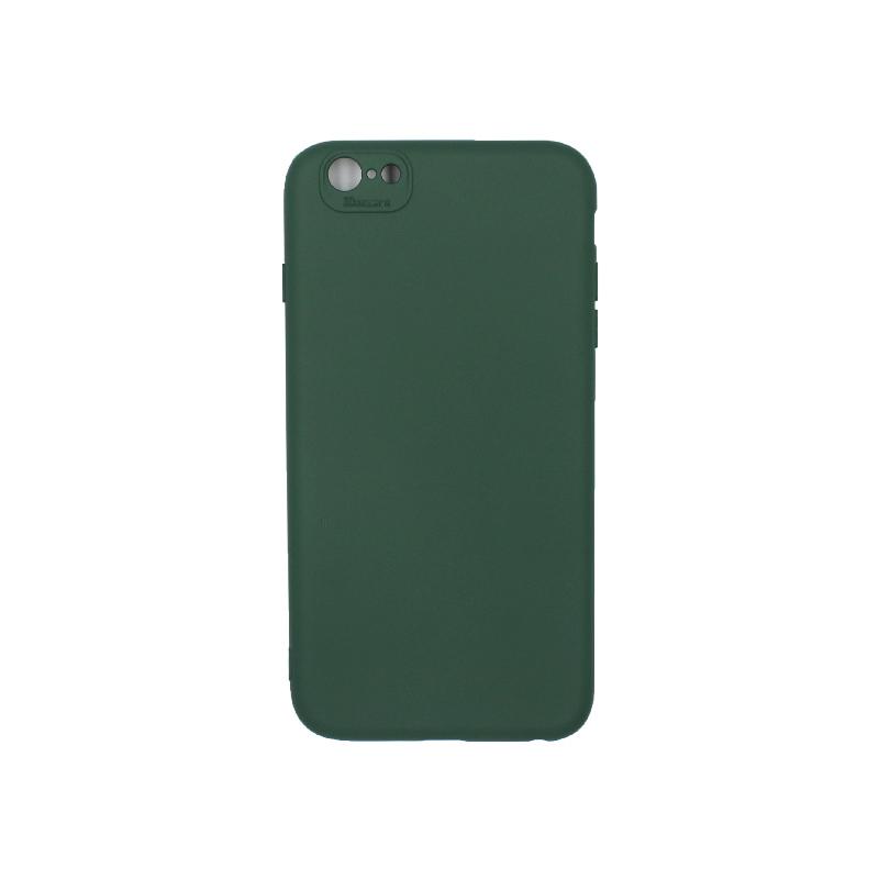 Θήκη iPhone 6 Plus / 6s Plus Silky and Soft Touch Silicone πράσινο 1
