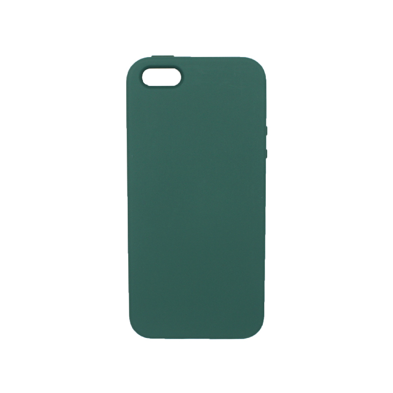 Θήκη iPhone 5 / 5s / SE Silky and Soft Touch Silicone πράσινο 1