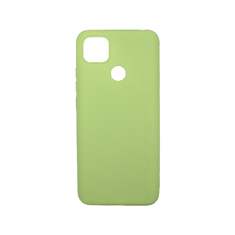 Θήκη Xiaomi Redmi 9C Σιλικόνη πράσινο
