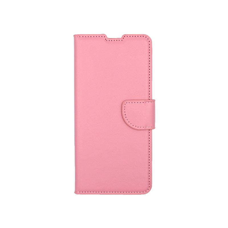 Θήκη Samsung Galaxy A31 Wallet ροζ 1