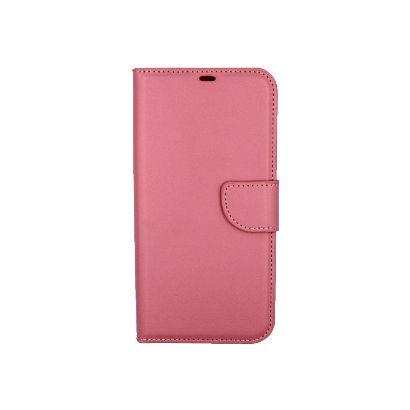 Θήκη iPhone 12 Mini Wallet ροζ 1