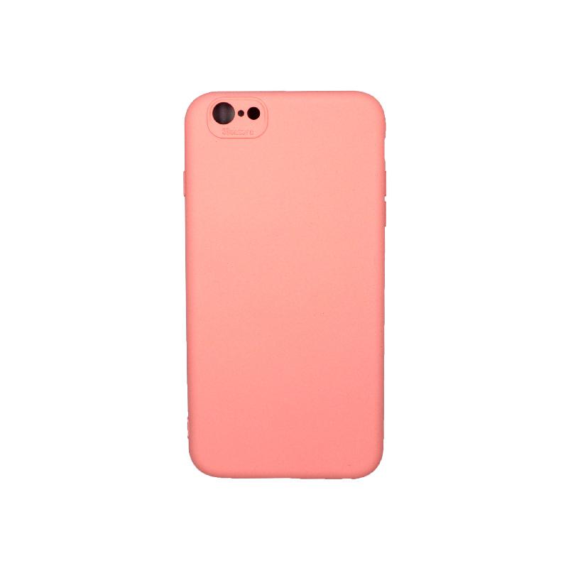 Θήκη iPhone 6 Plus / 6s Plus Silky and Soft Touch Silicone ροζ 1