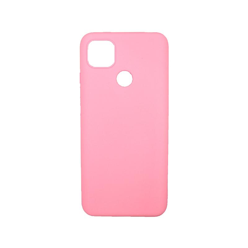 Θήκη Xiaomi Redmi 9C Σιλικόνη ροζ