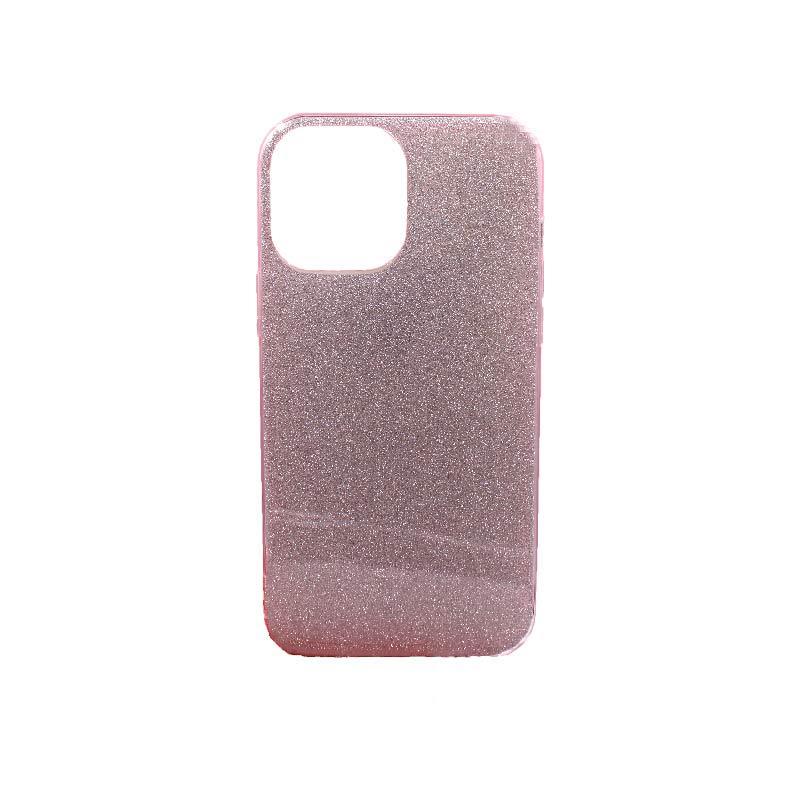 Θήκη iPhone 12 Pro Max Glitter ροζ