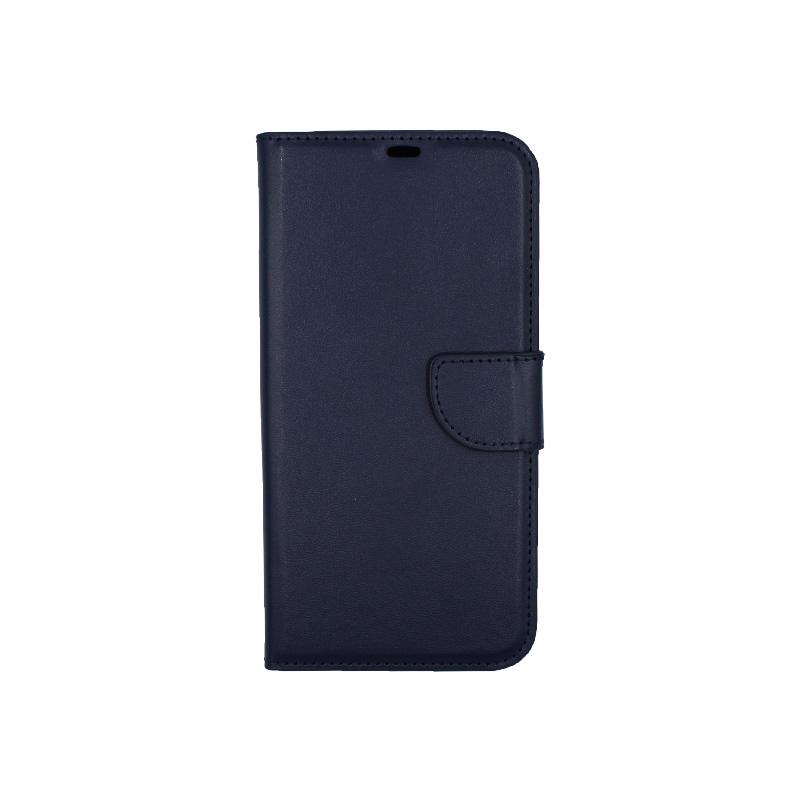 Θήκη iPhone 12 Pro Wallet σκούρο μπλε 1