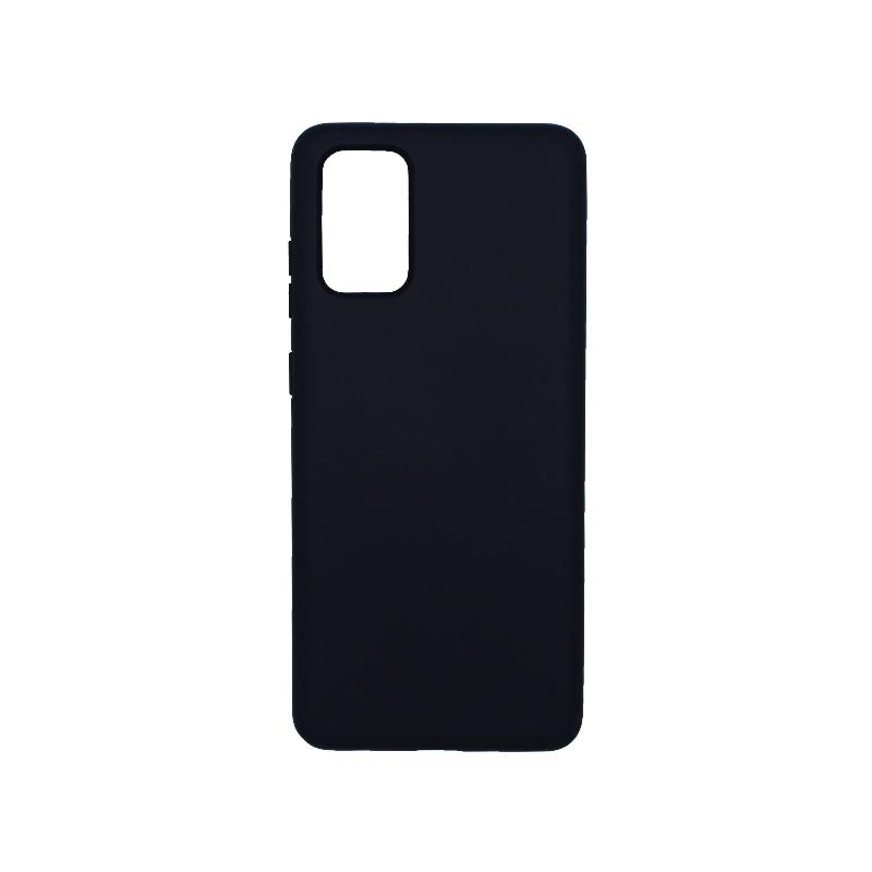 Θήκη Samsung Galaxy S20 Plus Silky and Soft Touch Silicone σκούρο μπλε 1
