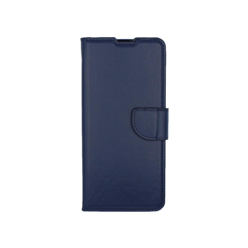 Θήκη Samsung Galaxy A31 Wallet σκούρο μπλε 1