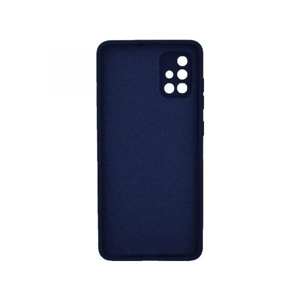 Θήκη Samsung Galaxy A71 Silky and Soft Touch Silicone Σκούρο μπλε 2