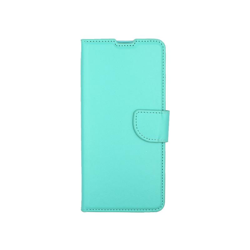 Θήκη Samsung Galaxy A31 Wallet σκούρο τιρκουάζ 1