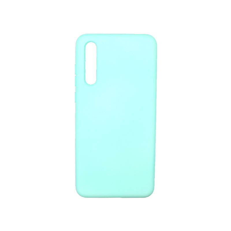 Θήκη Huawei P20 Pro Silky and Soft Touch Silicone τιρκουάζ 1