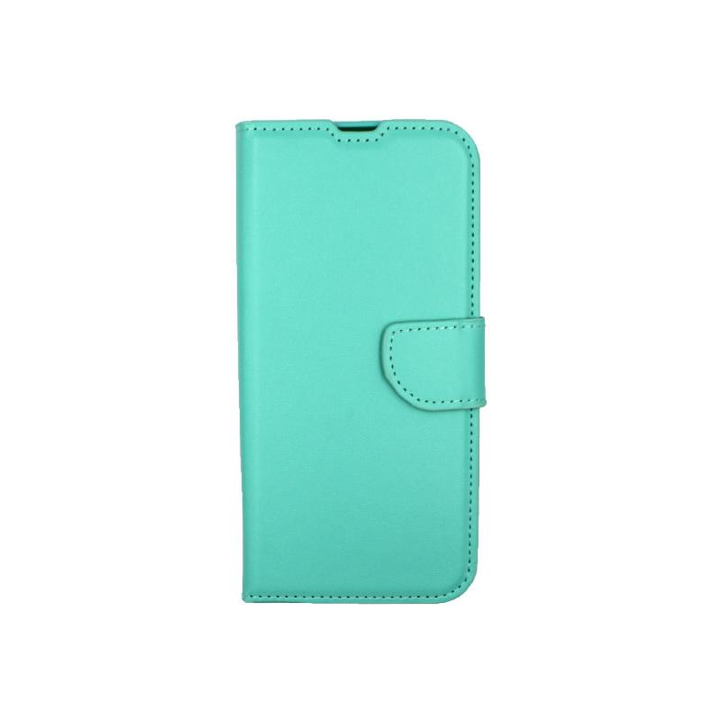 Θήκη Xiaomi Redmi Note 8T Wallet τιρκουάζ 1