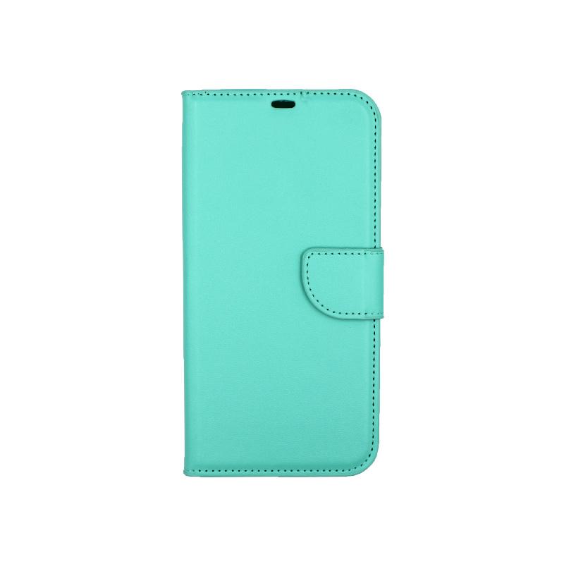 Θήκη iPhone 12 Mini Wallet τιρκουάζ 1
