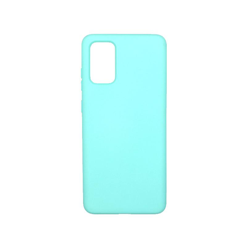 Θήκη Samsung Galaxy S20 Plus Silky and Soft Touch Silicone τιρκουάζ 1