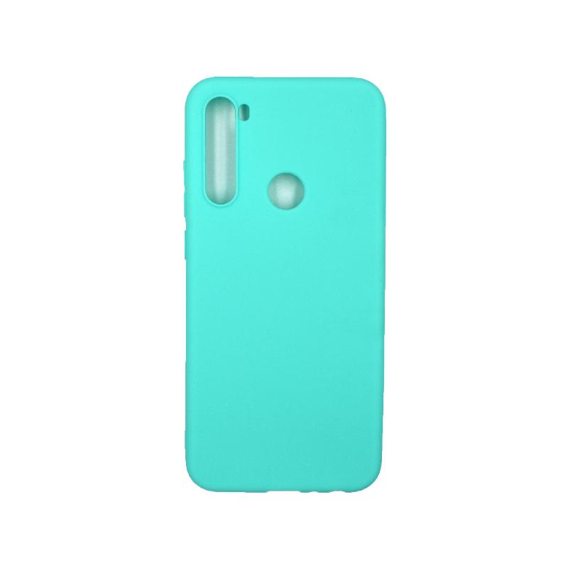 Θήκη Xiaomi Redmi Note 8T Σιλικόνη τιρκουάζ