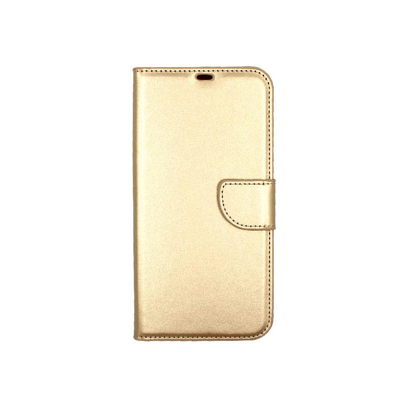 Θήκη iPhone 12 Mini Wallet χρυσό 1