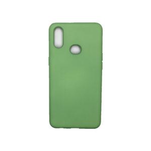 Θήκη Samsung Galaxy A10s Silky and Soft Touch Silicone Πράσινο 1